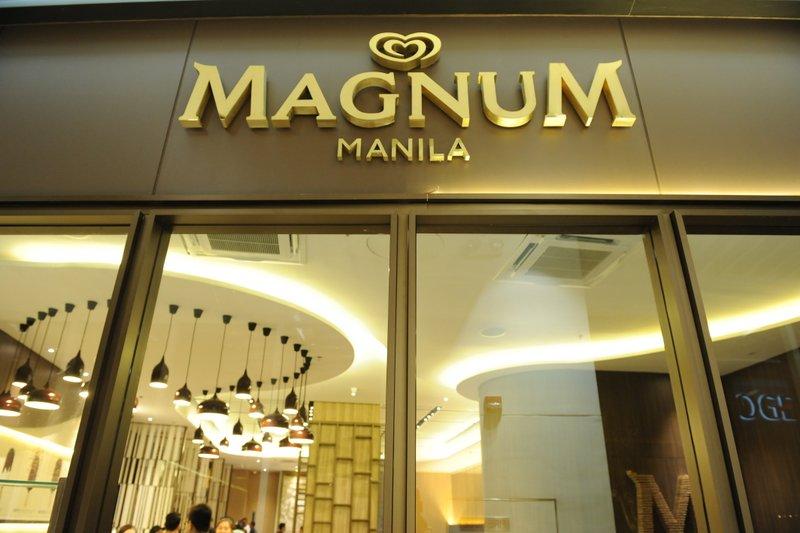 Magnum ice cream Manila