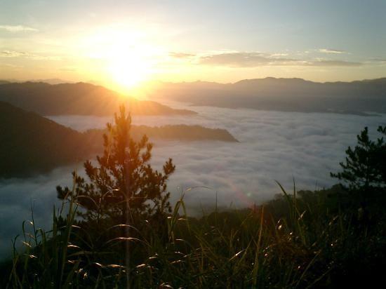 Kiltepan sunrise Sagada