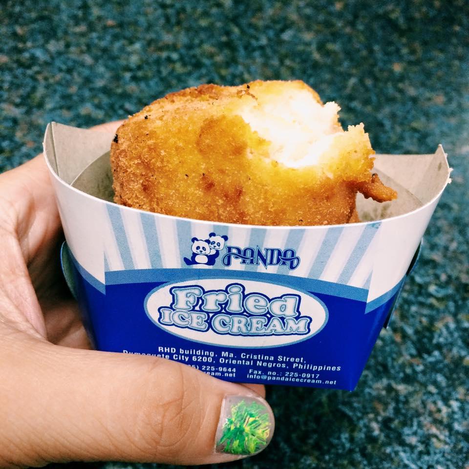 fried ice cream Dumaguete