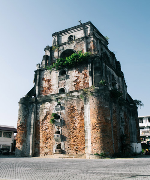 Sinking Bell Tower Ilocos Norte