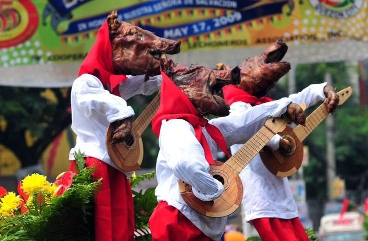 lechon parade Balayan Batangas