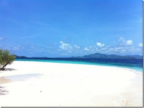 Banana Island beach Coron