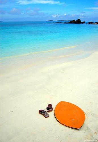 Calaguas Island beach